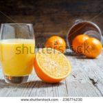 How many calories in Fresh Orange Juice