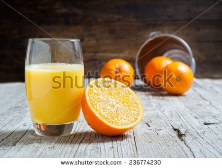 How many calories in Fresh Orange Juice