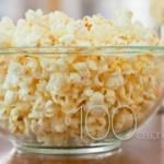 calories in popcorn