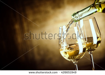 white wine calories