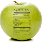 apple nutrition chart