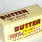 butter calories