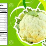 cauliflower nutrition facts