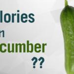 calories in cucumber