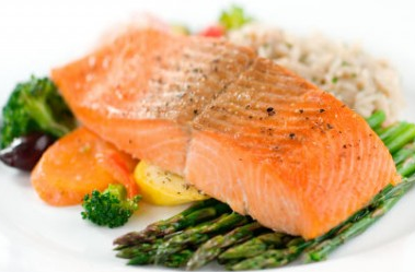 calories in salmon