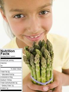 asparagus nutrition for kids