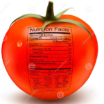 nutrition facts tomato
