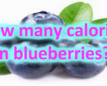 Calories in Blueberries