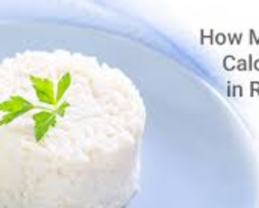 Calories in Rice