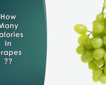 calories in grapes