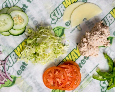 Nutrition Information For Subway