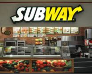 Subways menu nutrition