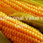 nutritional value of corn