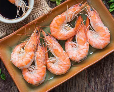 nutrition facts for shrimp