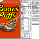 Reese's Puffs Nutrition Facts