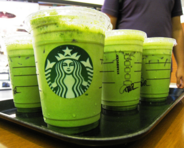Starbucks Green Tea Nutrition