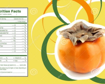 persimmons nutritional information