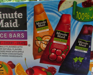 Juice Bar Nutrition Facts