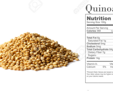 Nutrition Facts of Quinoa