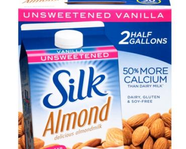 Silk Almond Milk Nutrition Facts