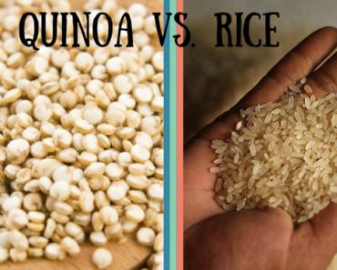 White Rice Vs Quinoa Nutrition Facts