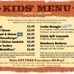 Olive Garden Kid's Menu