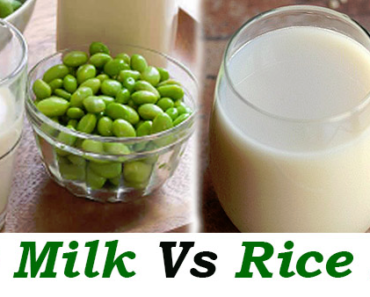 Rice Milk Vs Soy Milk
