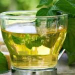 Peppermint tea