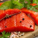 Nutrition facts of salmon