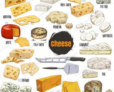 Calories In Cheese